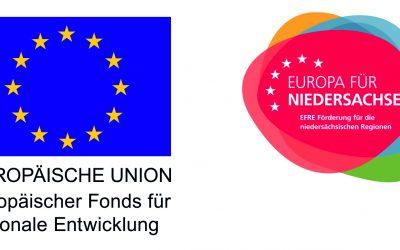 Projektförderung mit Mitteln des Europäischen Fonds für regionale Entwicklung